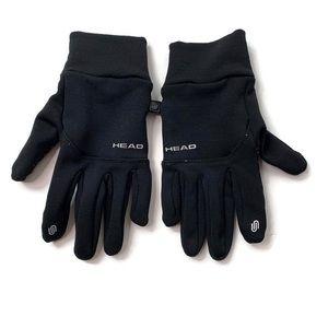 Head Black Grip Sensatec Touch Gloves
